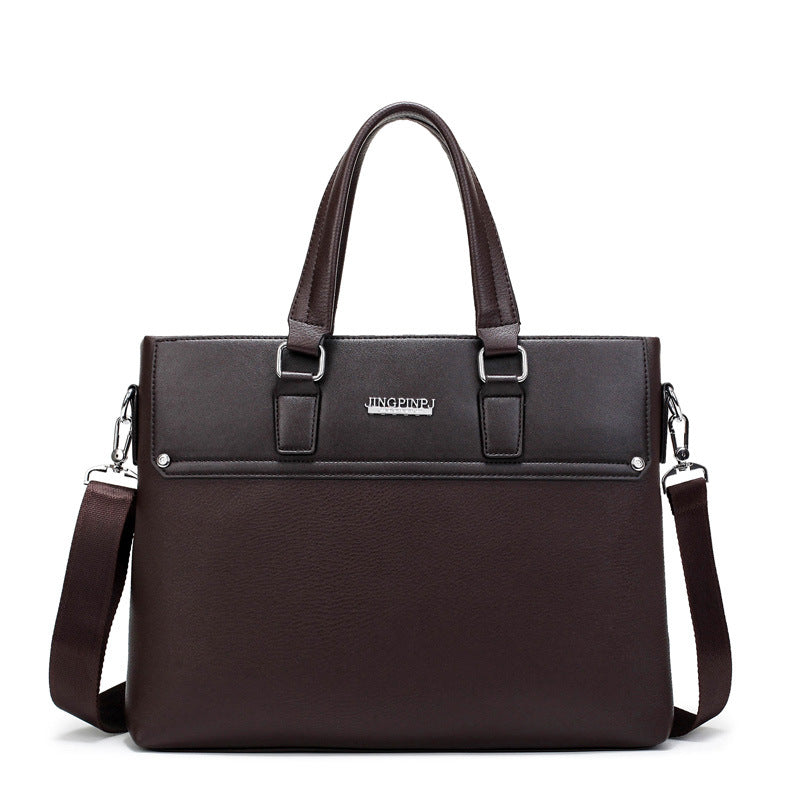 BRIEFCASE & BAGS - Simple Business Men Briefcase  / Leather Bag