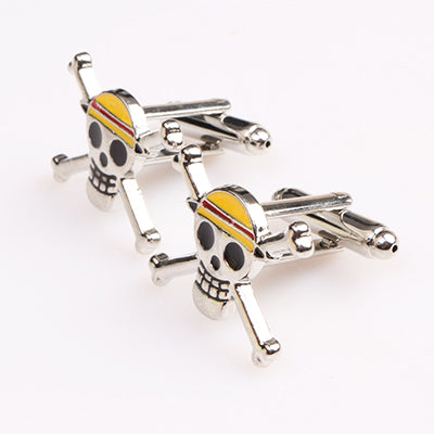 CUFFLINKS & TIE CLIPS - Skull Cufflinks