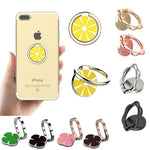 SMART PHONES HOLDERS - Cell Phone Finger Ring Holder 360 Rotation Adjustable Metal Alloy Stand Kickstand