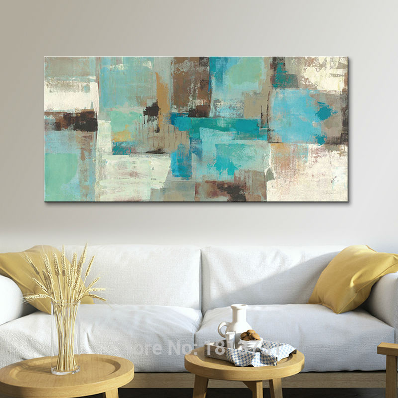 PAINTINGS  -   Hand Painted Canvas Oil Paintings; Modern Abstract Wall Art