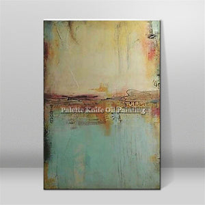 PAINTINGS  -  Hand Painted Canvas Abstract Oil Paintings