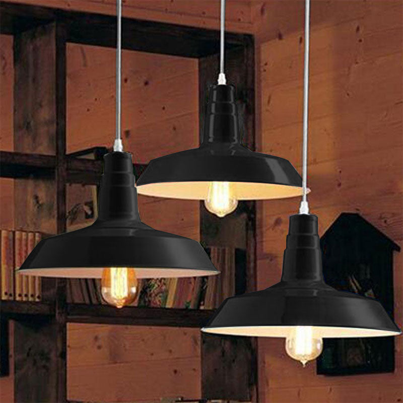LIGHT FIXTURES  -   Black Pendant Light Fixture