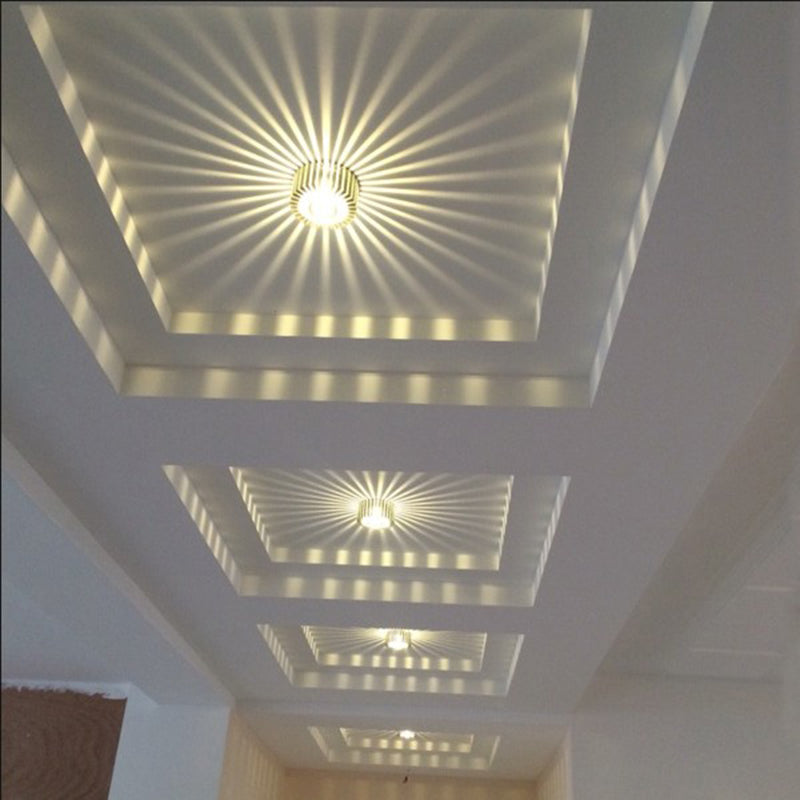 LIGHT FIXTURES  -  3W LED Aluminum Ceiling Light Corridor Fixture