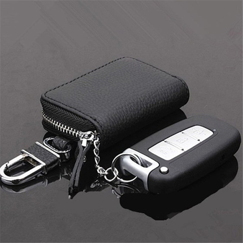 KEY WALLET - Mens Leather Car Key Wallet