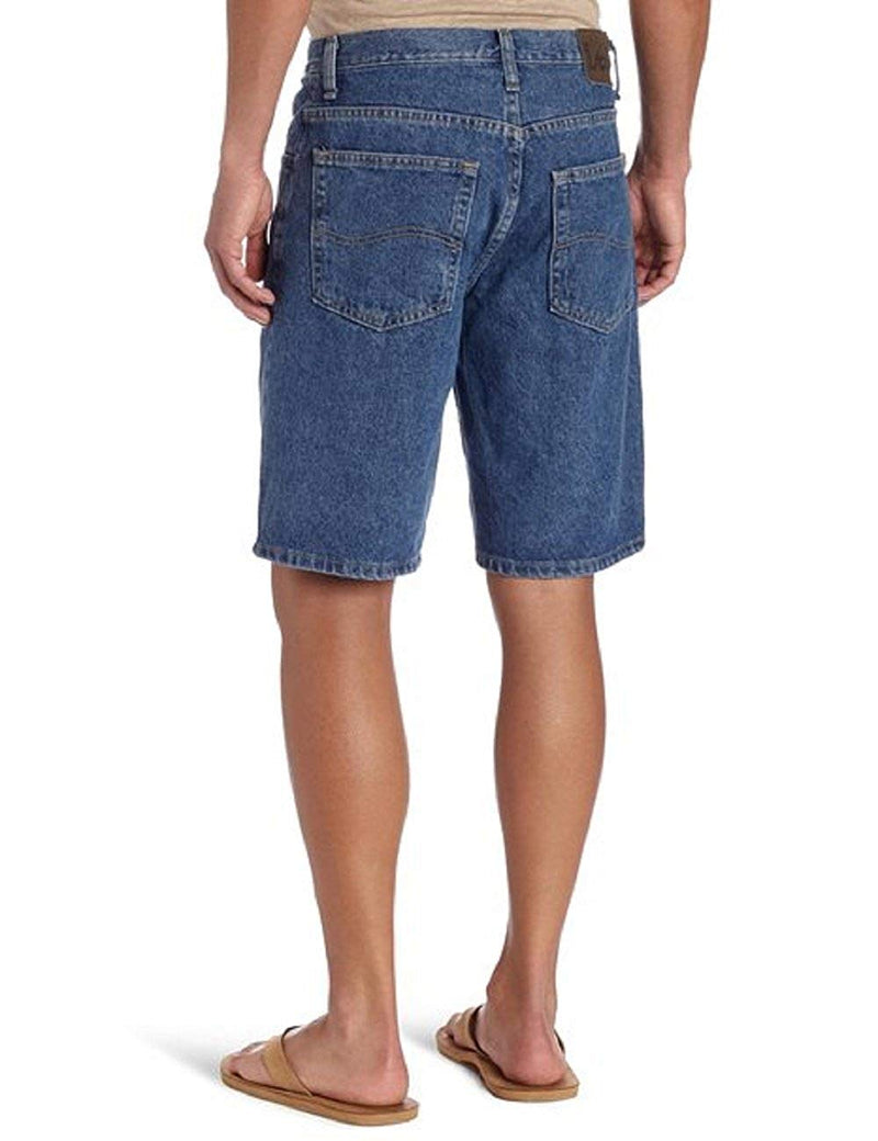 Lee Men's Premium Denim Shorts (36, Pepper Stone)