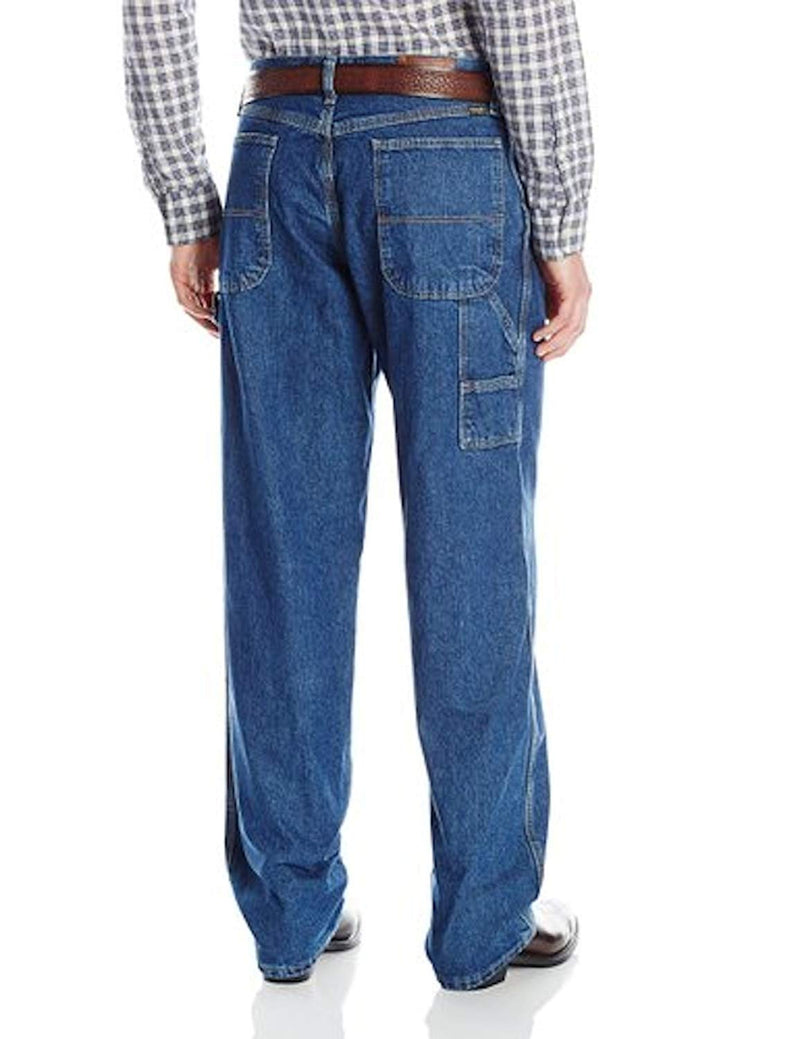 Wrangler Men's Carpenter Denim Jeans W/Multiple Tool Pockets - Genuine Jean