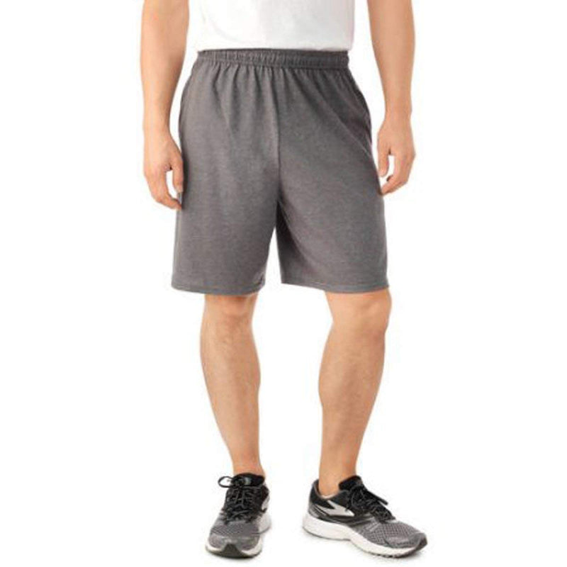 Fruit of the Loom Men's Jersey Short with Side Pockets