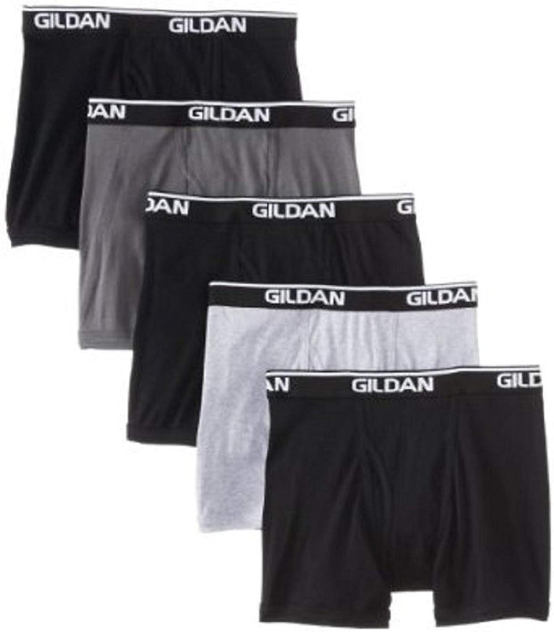 Gildan Premium Men's Boxer Brief 5-Pack (Assorted)