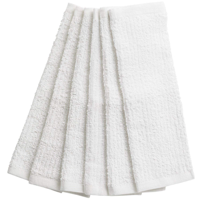 "Kitchen Dish Towel - Set of 6 Very Absorbent Kitchen Dishcloth 12""X12"""