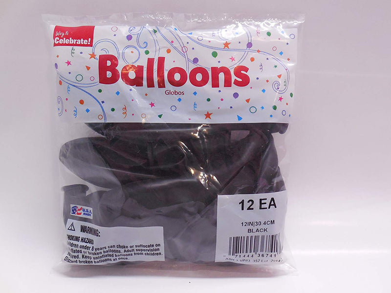Way to Celebrate 12 inch Latex Balloons