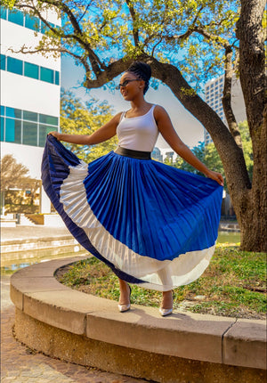 Blue Moon Curvy Maxi Skirt