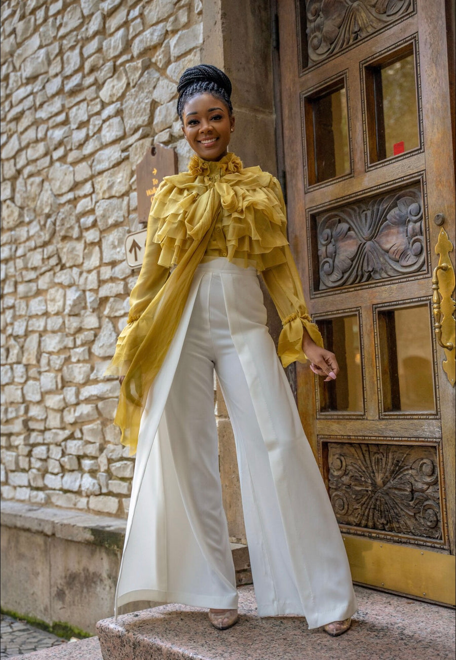 Palazzo Pants in OffWhite