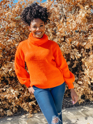 Warm Me Up | Turtleneck Sweater