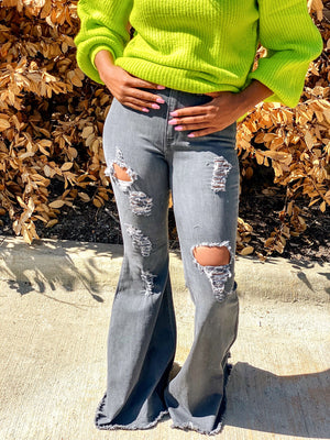 Rock the Bell | Distressed Denim Jeans