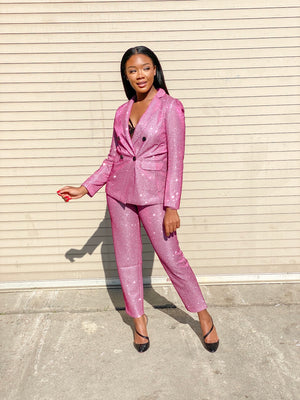 Pretty in Pink | 2 piece suit