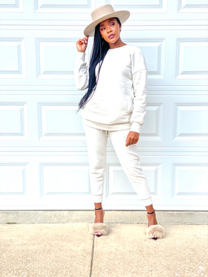 So Essential | Sweatsuit (Cream)