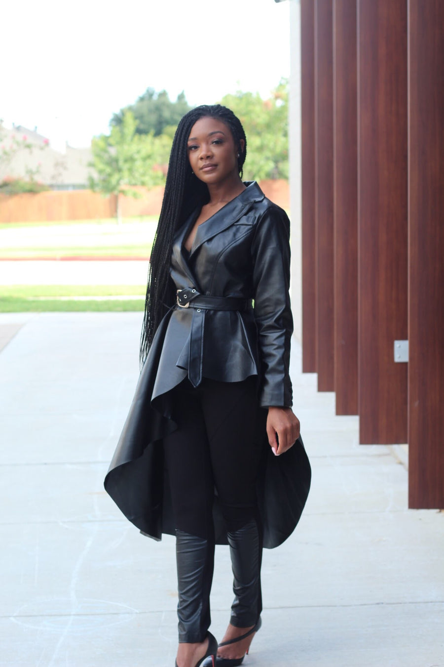 Who's the Boss | Faux Leather Coat