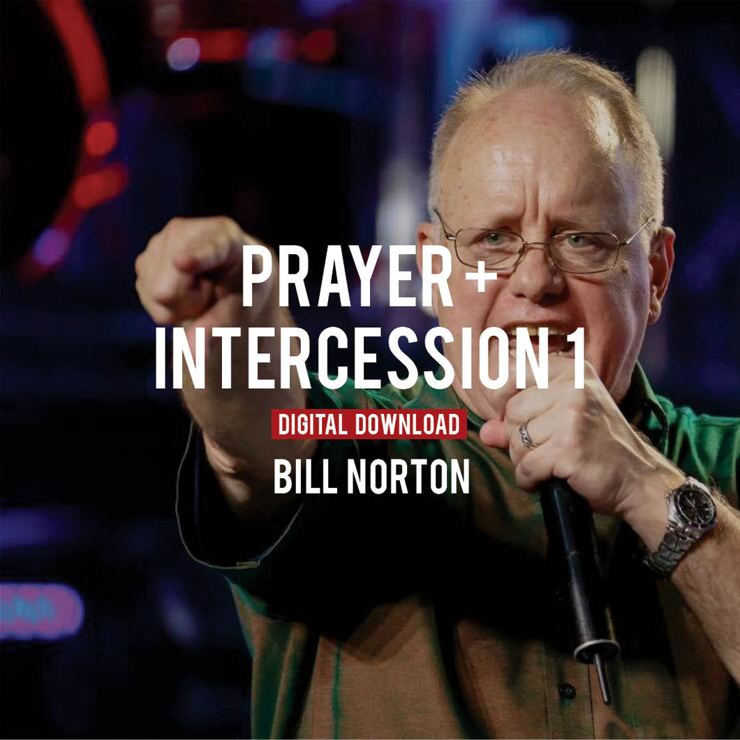 Prayer & Intercession I - Digital Copy