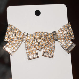 046-Bougie Bow Earrings