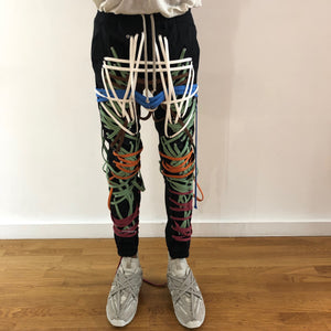0002- Living Color Laced Pants