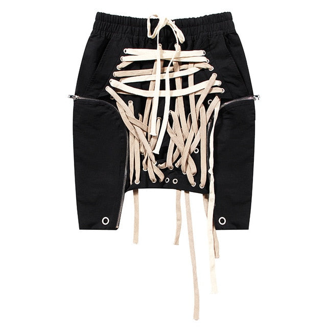 0001-Bougie Laced Skirt