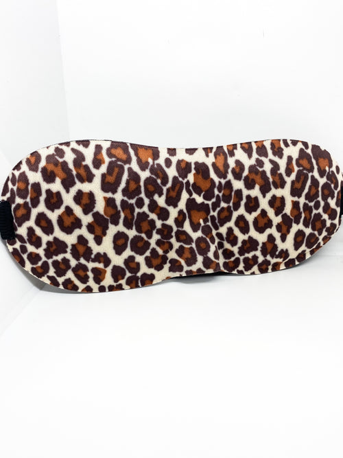SLEEPING MASK - LEOPARD