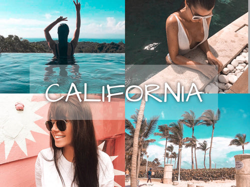 """California"" Preset Pack of 4 - Plush Boutique"