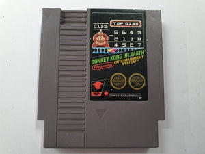 Donkey Kong JR Math Cartridge
