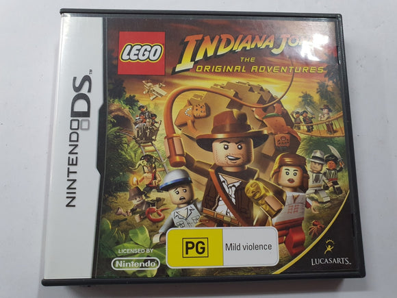 Lego Indiana Jones Complete In Original Case