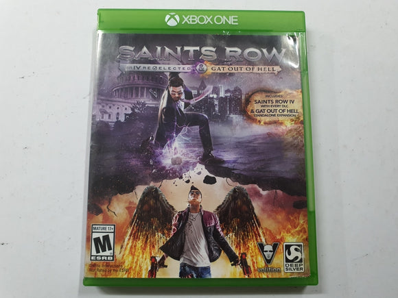 Saints Row IV First Edition Complete In Original Case