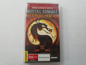 Mortal Kombat Unchained Complete In Original Case