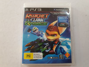 Ratchet & Clank Q Force Complete In Original Case