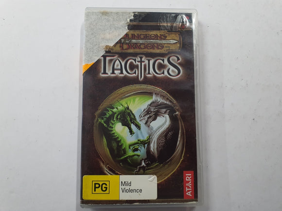 Dungeons & Dragons Tactics Complete In Original Case