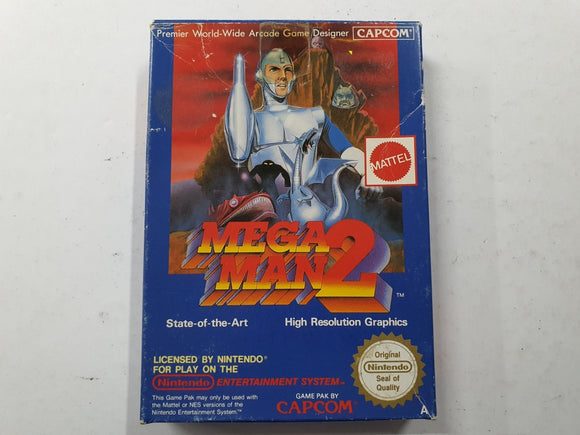 Mega Man 2 In Original Box