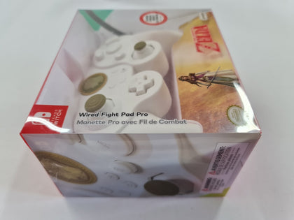 White Zelda Wired Fight Pad Pro Brand New & Sealed
