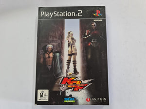 King Of Fighters Maximum Impact Complete In Original Case with Game Manual
