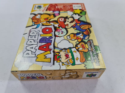 Paper Mario Complete In Box