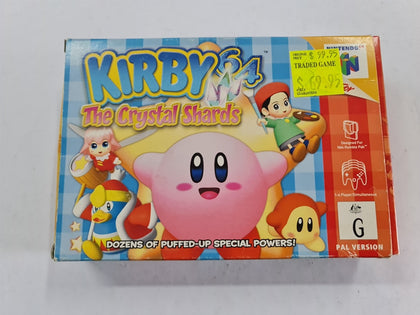 Kirby 64 The Crystal Shards Complete In Box