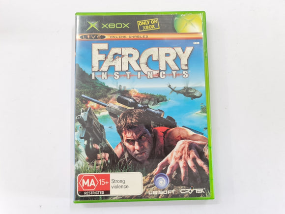 Far Cry Instincts Complete In Original Case