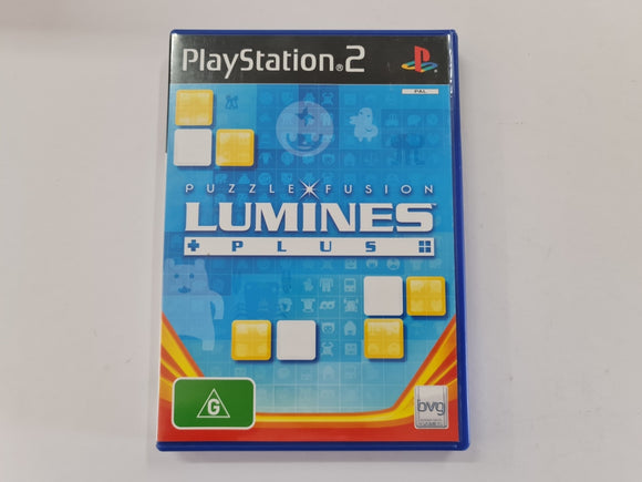 Lumines Plus Complete In Original Case