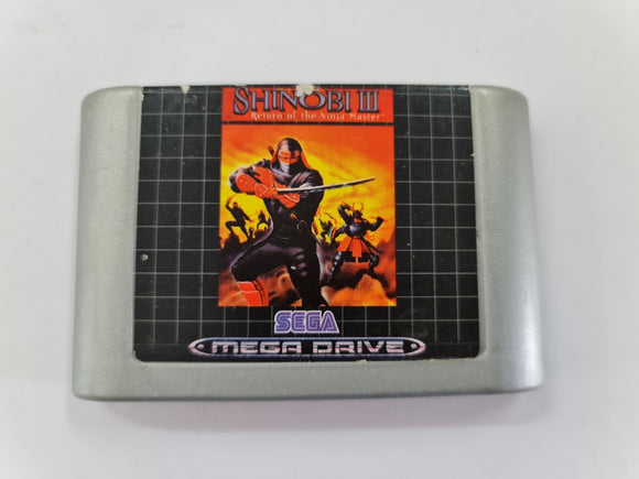 Shinobi 3 Return Of The Ninja Master Cartridge