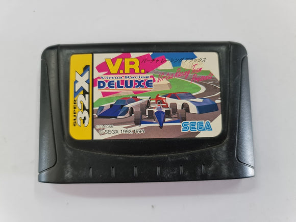 Virtua Racing Deluxe Cartridge