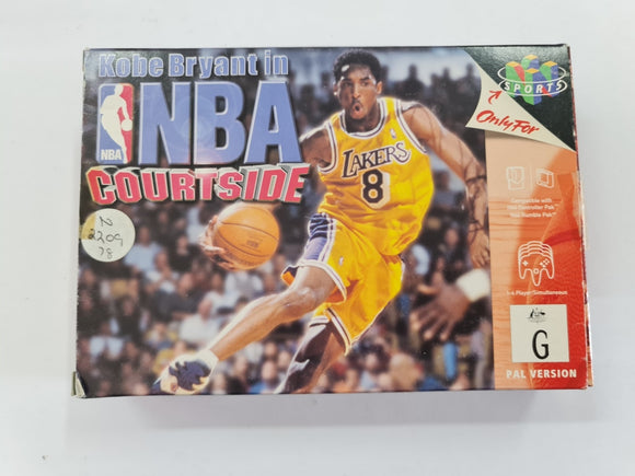 NBA Courtside In Original Box