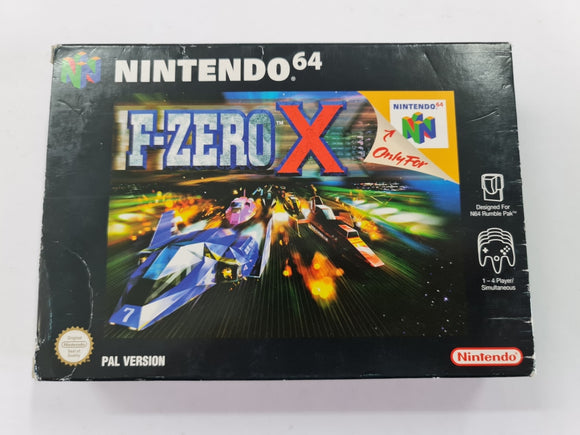 F Zero X Complete In Box