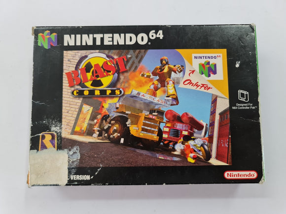 Blast Corps In Original Box