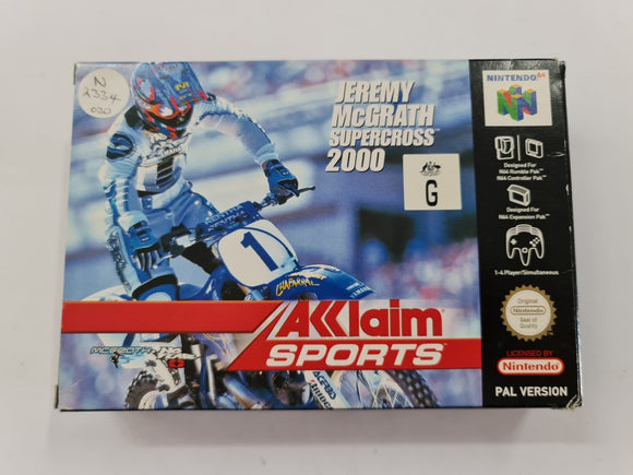Jeremy McGrath Supercross 2000 In Original Box