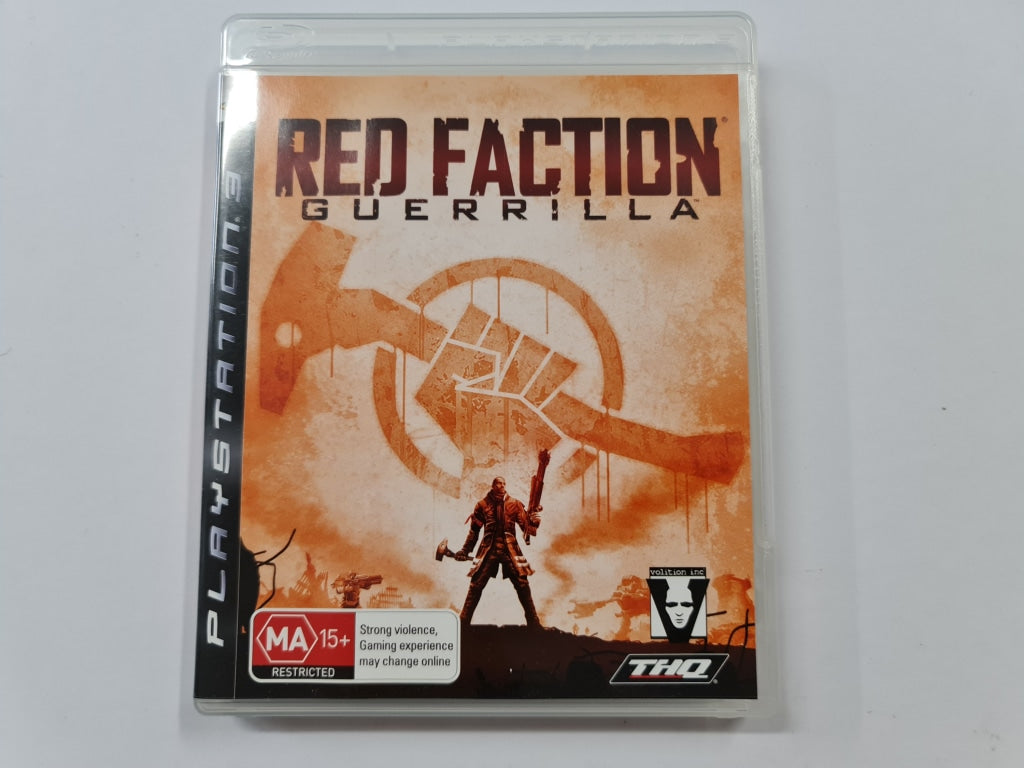 Red Faction Guerrilla Complete In Original Case