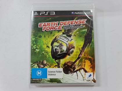Earth Defense Force Insect Armageddon Complete In Original Case
