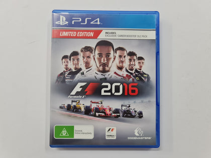 F1 2016 Limited Edition Complete In Original Case