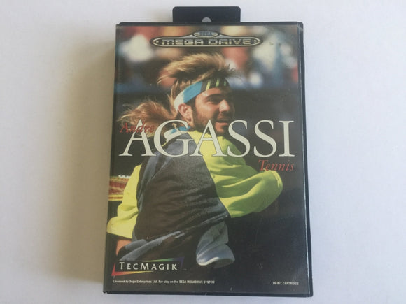 Agassi Tennis Complete In Original Case
